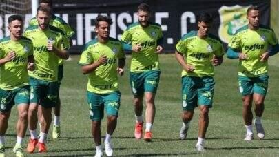Em preparo para o clássico, Palmeiras treina no CT do Brasiliense