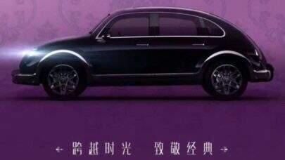 """Marca chinesa desenvolveu um """"Fusca elétrico"""" e pretende lançar o veículo em breve"""