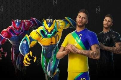 Fortnite divulga skin de Neymar e anuncia campeonato com prêmios exclusivos