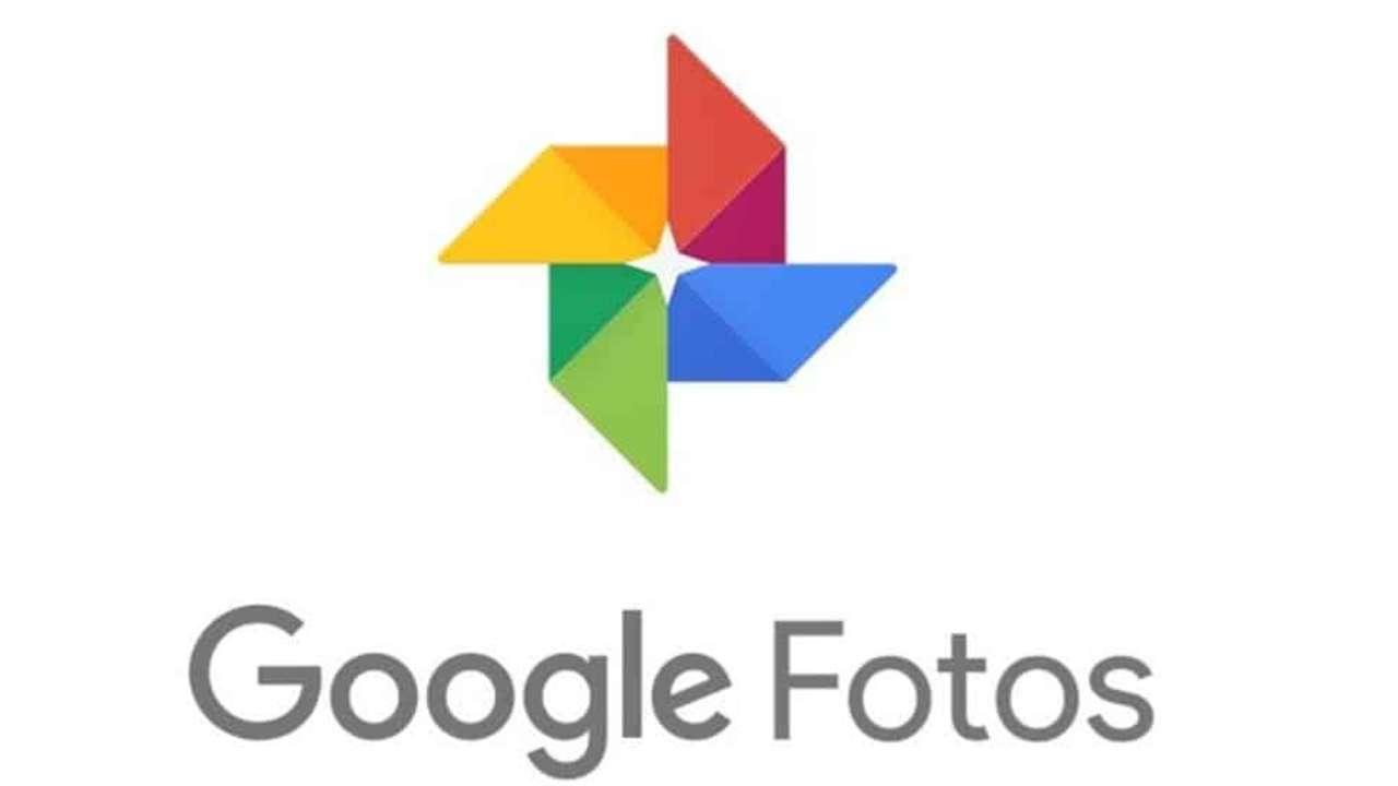 Logo colorido do Google Fotos