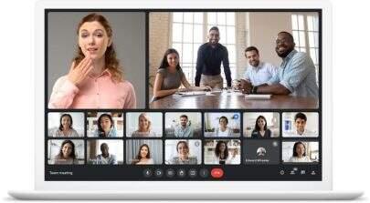 Atualização do Google Meet proporciona melhorias aos usuários, como zoom automático e muito mais