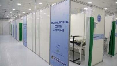 Governo de SP entrega Hospital de Campanha da Covid-19 em Itaquaquecetuba