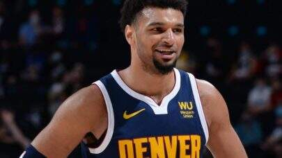Jamal Murray, armador do Denver Nuggets, está fora da temporada 2020/21 da NBA após lesionar o joelho