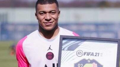 Pela quinta vez Mbappé é eleito o melhor jogador do mês no Campeonato Francês