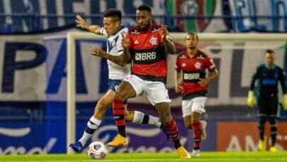 Na estreia da Libertadores, Flamengo vence jogo de virada contra o Vélez Sarsfield