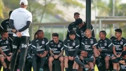 Na preparação para enfrentar o Peñarol pela Copa Sul-Americana, o Corinthians retorna aos treinamentos no CT Joaquim Grava