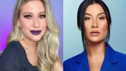"""Bianca Andrade reage a críticas de Niina Secrets sobre maquiagens e blogueira responde: """"Não entendi"""""""