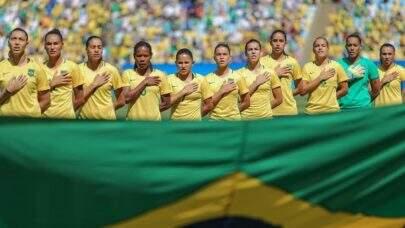 No torneio de futebol feminino nas Olimpíadas, o Brasil está no grupo da Holanda, China e Zâmbia