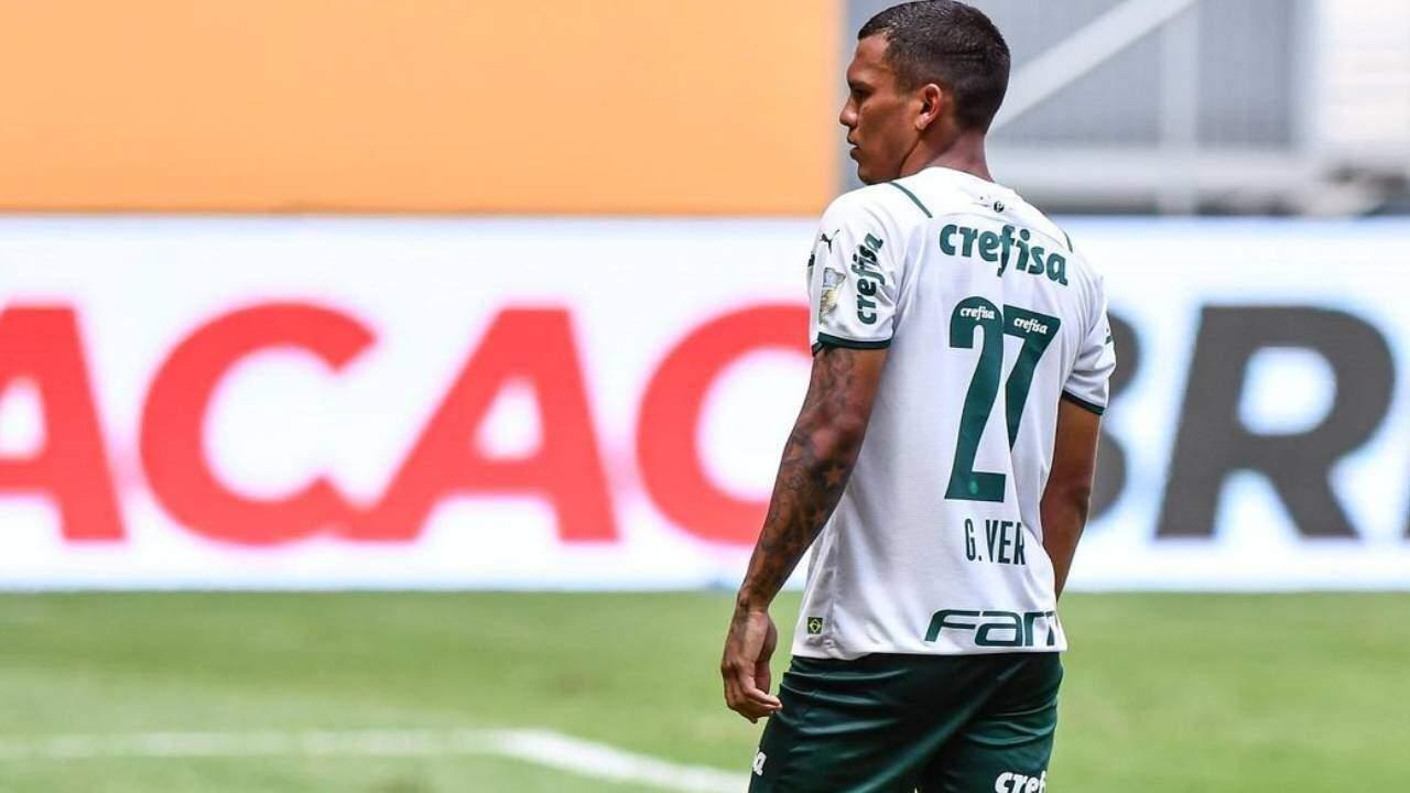 Pela rede social, Gabriel Veron, do Palmeiras, retruca provocação de Lucas Paquetá