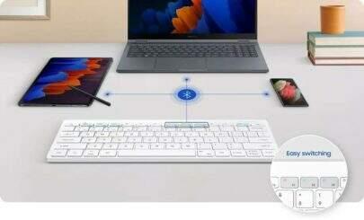 Próximo teclado da Samsung será sem fio e com DeX embutido