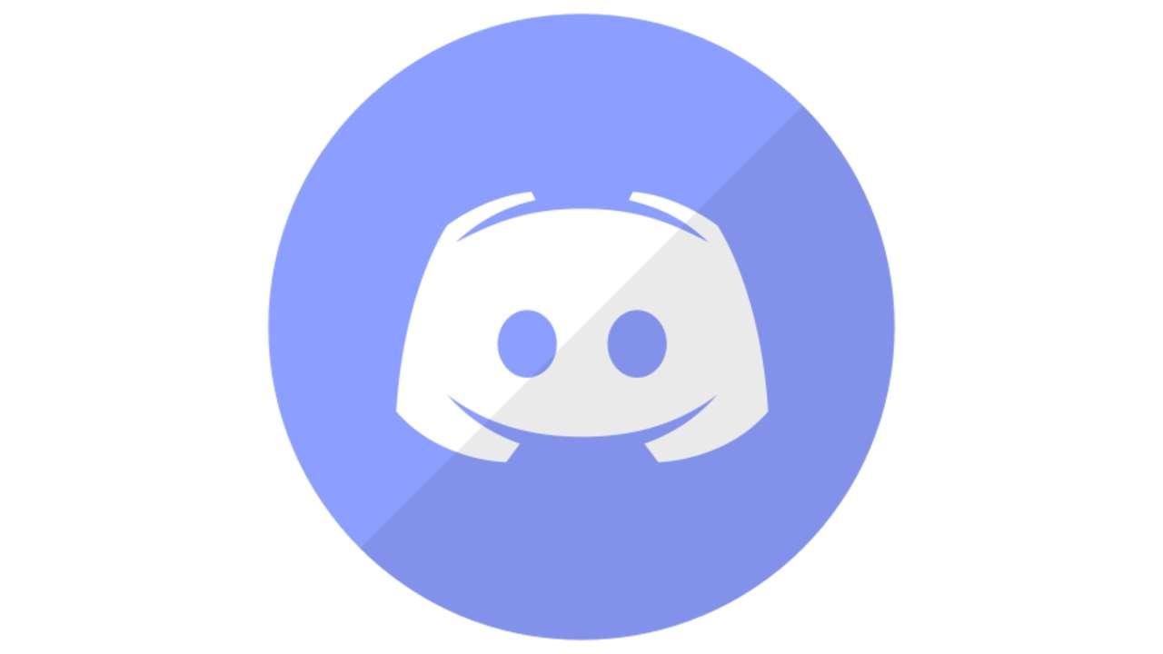 Logo do Discord roxo
