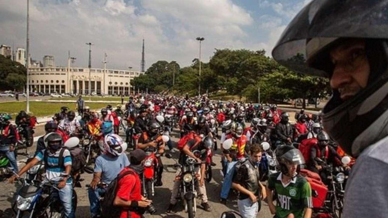 Manifestação entregadores