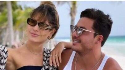 Wesley Safadão viaja com Thyane Dantas para tentar salvar casamento, revela jornalista