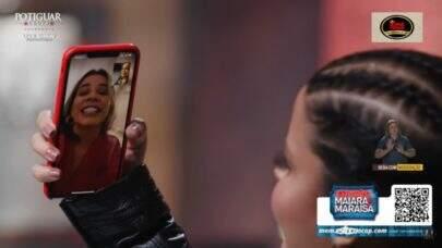 Marília Mendonça 'invade' live de Maiara e Maraísa e canta pelo celular