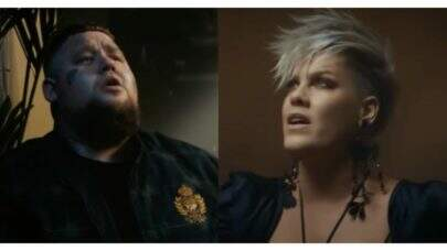 "Com vocais poderosos, P!nk e Rag'n'Bone Man lançam o clipe intimista de ""Anywhere Away From Here"""
