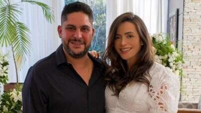 Cantor Jorge, da dupla com Mateus, se casa com amiga de infância da ex-mulher