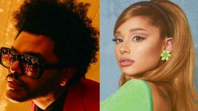 """Save Your Tears (Remix)"": The Weeknd divulga capa do single em parceria com Ariana Grande"