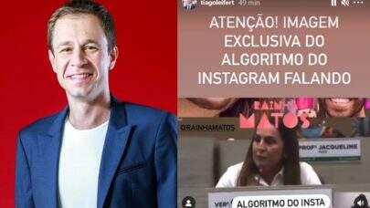 BBB21: Tiago Leifert debocha de vereadora por repudiar beijo de Fiuk e Gilberto