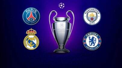 UEFA define as semifinais da Champions League; confira