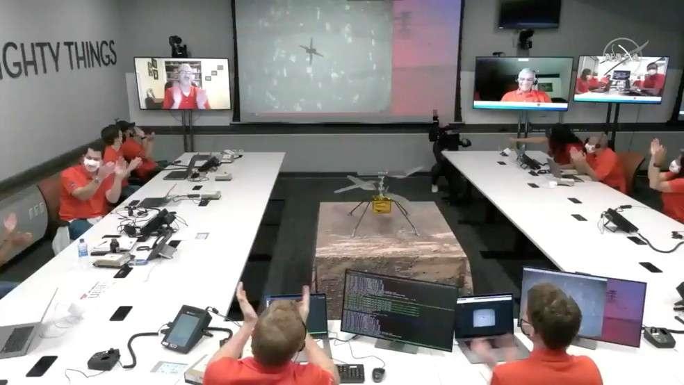 Voo do Ingenuity aconteceu hoje em Marte