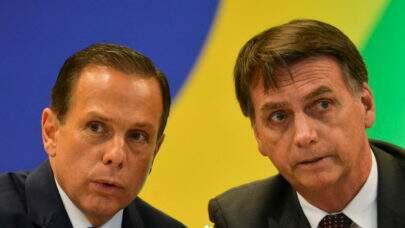"""Bolsonaro chama Doria de """"Vagabundo"""" e o governador responde """"vou te vacinar também"""""""