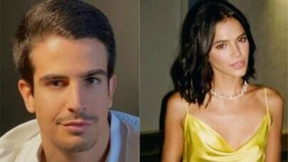 """Bruna Marquezine posta foto inédita beijando Enzo Celulari e encanta web: """"Feliz dia do beijo"""""""
