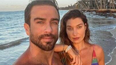 Erasmo Viana esclarece boatos de que traiu Gabriela Pugliesi com um homem