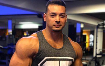 """Felipe Franco, ex de Juju Salimeni, se acidenta ao realizar treino de musculação: """"Travei"""""""