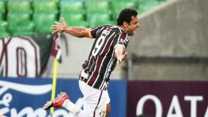 Fred se torna o quinto maior artilheiro brasileiro na história da Libertadores