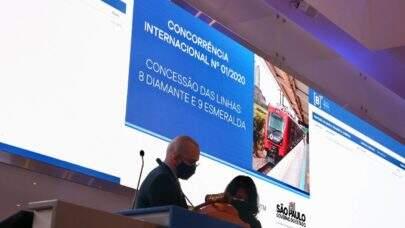 CCR vence leilão de duas linhas da CPTM; governo de SP arrecada R$ 980 milhões