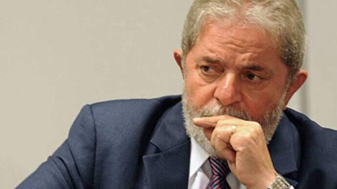 Ex-presidente Luiz Inácio Lula da Silva em julgamento