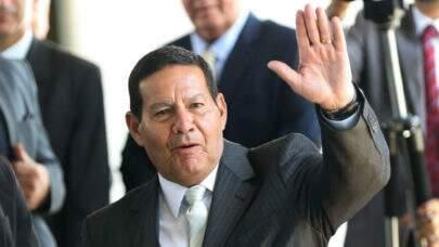 Mourão diz que 'tem escutado pedidos' para que ele se candidate a presidente em 2022