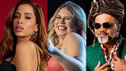 """""""Top 5 Lançamentos da Semana"""": Anitta, Marília Mendonça, Carlinhos Brown e muito mais!"""