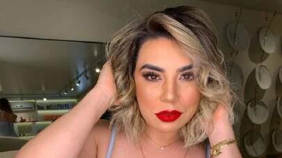 """Naiara Azevedo exibe antes e depois de seu emagrecimento e recomenda: """"Faça por você"""""""