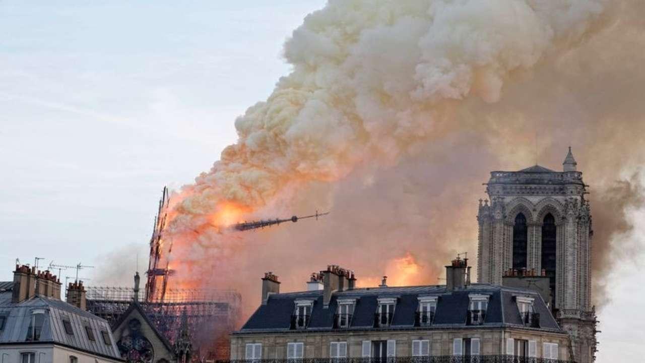 Catedral em chamas