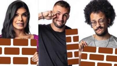BBB21: Pocah, Arthur e João estão no paredão
