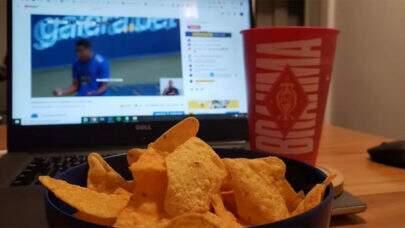 Perfil do Cruzeiro provoca Atlético-MG com foto de nachos após vitória no clássico