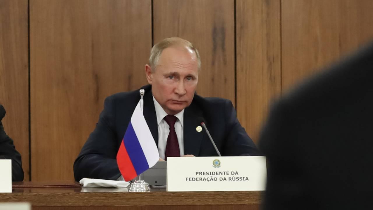 presidente da Federação da Rússia, Vladimir Putin