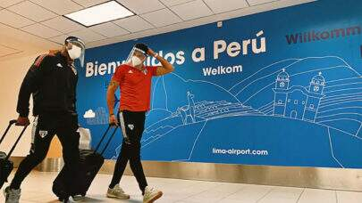 São Paulo desembarca no Peru e inicia preparação para estreia na Libertadores