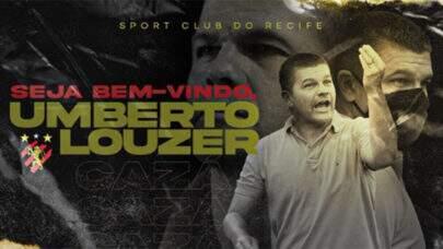 Sport confirma contratação do técnico Umberto Louzer