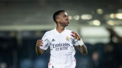 Brasileiro Vinicius Junior é eleito o Jogador da Semana na Champions League
