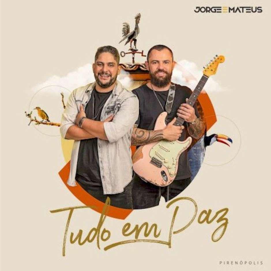"""Jorge e Mateus compartilham curiosidades sobre capa de """"Tudo em Paz"""""""