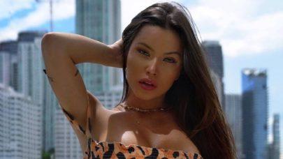 """6 vezes que Bianca Anchieta surgiu em cenários paradisíacos e ostentou boa forma: """"Musa!"""""""