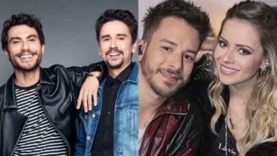 """Bruninho e Davi publicam vídeo cantando Sandy e Junior: """"Uma das nossas referências no mundo da música!"""""""