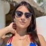 """Irmã de Juliana Caetano chama atenção com look dentro de carro: """"Tem que ser assim"""""""