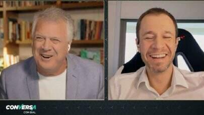 """Em entrevista para Bial, Leifert desabafa e conta sobre medo de cobrir o BBB: """"Só você vai me entender"""""""