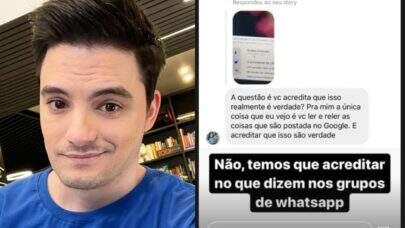 Felipe Neto rebate críticas de bolsonaristas: 'É realmente bizarro o grau de perversão e mentira'