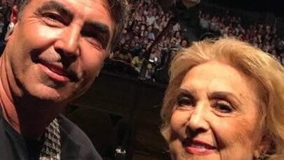 Filho de Eva Wilma homenageia à atriz: 'Obrigado mãe'