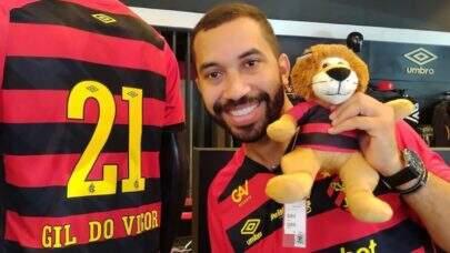 Gil do Vigor diz 'sentir pena' de dirigente do Sport que o ofendeu