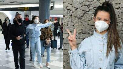 Juliette, campeã do BBB21, desembarca em São Paulo, dá show de simpatia e é aclamada pelos fãs no aeroporto